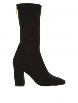 Baker Zip Back High Ankle Boot
