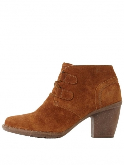 Clarks Carleta Lyon Lace Up Ankle Boot