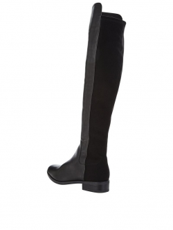 Clarks Caddy Belle Leather Over The Knee Boot