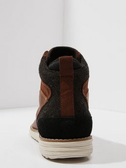 Special High-top trainers - brown