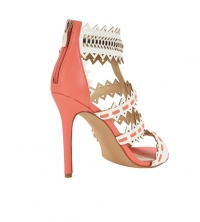 Lagoon Statement Heeled Sandal