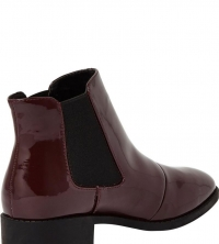River Island Patent Point Ankle Boot