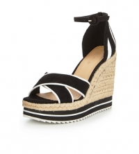 Breeze Sporty Colour Block Wedge Sandal