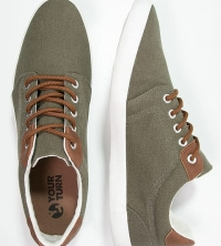 Casual comfort Trainers - olive
