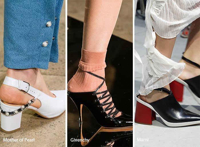 spring summer 2017 shoe trends open back shoes